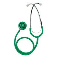 カラー聴診器 ダブル グリーン