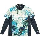スパッツィオ SPAZIO プラシャツ インナーセット marble practice shirt 21/ネイビー GE-0403
