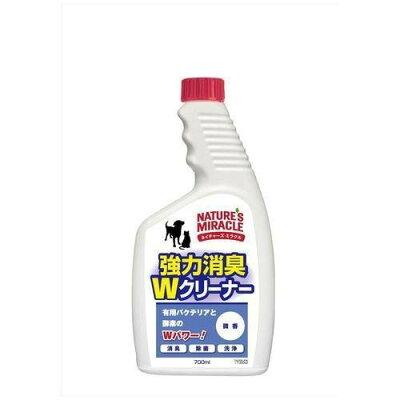 ネイチャーズミラクル 強力消臭Wクリーナー 微香 つけかえ(700ml)