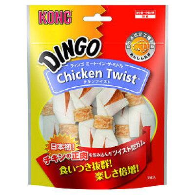 ディンゴ ミート・イン・ザ・ミドル チキンツイスト ミニ(7本入)