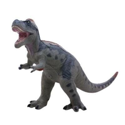 その他玩具 恐竜 羽毛ティラノサウルス ビニールモデル グレー