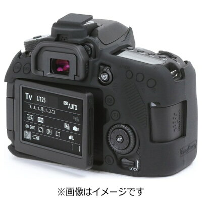 ディスカバード イージーカバー EOS 80D用 ブラック