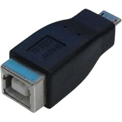 変換名人 変換プラグ USB B(メス)→microUSB(オス) USBBB-MCA(1セット)