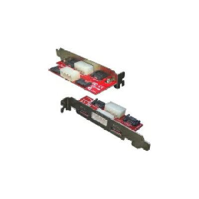 変換名人 PCIブラケット用SATA延長端子 PCIB-SATA2(1セット)
