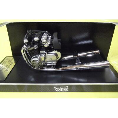 マイルストーン 1/12 WIT S ディスプレイアイテムシリーズ Kawasaki KZ1000 Mk.2 エンジン