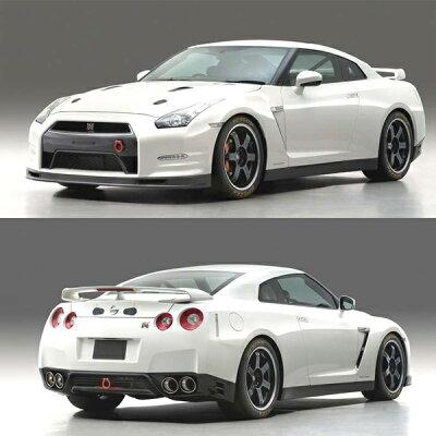 WIT'S 完成レジンモデル 1/43 ニッサン GT-R Club Track edition ブリリアントホワイトパール(マイルストーン)