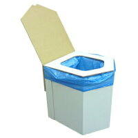 ラビン エコ洋式簡易トイレセット(非常用トイレ付)(1セット)
