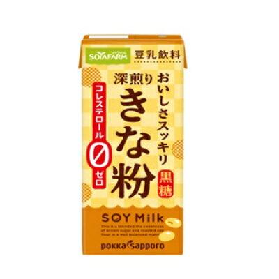 ソヤファーム おいしさスッキリきな粉 豆乳飲料 200ml
