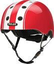 メロンヘルメット Melon Helmets ヘルメット ダブル XL~XXLサイズ 58~63cm ホワイト/レッド EBMH1011