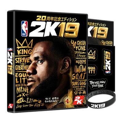 NBA 2K19 20周年記念エディション/PS4/PLJS36071/A 全年齢対象