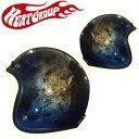 HEAT GROUP ジェットヘルメット Hand Paint GLITTER JET Galaxy CP-3