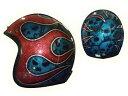 HEAT GROUP ヒートグループGLITTER JET Hand Paint Helmet(Gibson)
