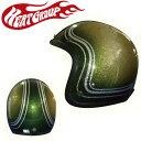 HEAT GROUP ヒートグループGLITTER JET Hand Paint Helmet(Melon Hoppe)