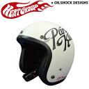 HEAT GROUP ジェットヘルメット GARAGE OF ACE マットアイボリー HOJ-02IV
