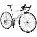 ルイガノ 700×23C型 ロードバイク LGS-CEN LGホワイト/420サイズ