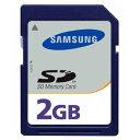 2GB SAMSUNG サムスン 純正 SDメモリーカード ミニケース付 バルク MMAGF02GWFCA-2MN-BLK