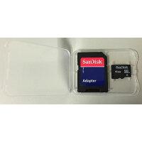 SanDisk microSDHC 16GB Class4 SDアダプター付 プラケース入り SDSDQAB-016G-BULK