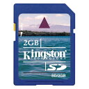2GB Kingston キングストン SDメモリーカード ミニケース付 バルク SD/2GB-BLK