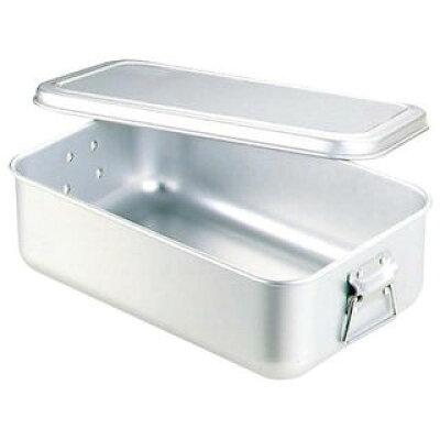 nakao/中尾アルミ製作所 アルマイト 蒸気用 炊飯鍋 蓋付 6.3L 3.5升用