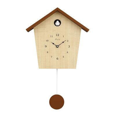 リンクスパイア 鳩時計 CK-8401BR Thyme ナチュラルブラウン