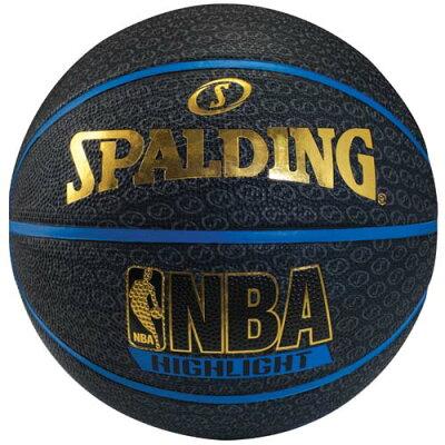 SPALDING スポルディング バスケットボール 7号ボール ブルーハイライト 7 ユニセックス 7 ブルー 73-902Z