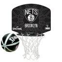 スポルディング Basketball マイクロミニバックボード NBAロゴマン ネッツ 77-630Z