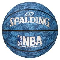 NBAデジタルカモ ブルー 7 74-976Z-ブルー-7 / S 334556 スポルディング QBG41