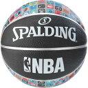 SPALDING NBAアイコンボール ブラック 7 83-649Z