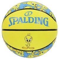 バスケットボール SPALDING ラバーボール トゥイーティ 5号 外用