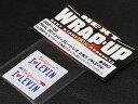 WRAP-UP/REAL 3DナンバープレートU.S. 2枚入I LOVE LEVIN