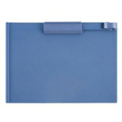 TANOSEE クリップボード A4 ヨコ ブルー