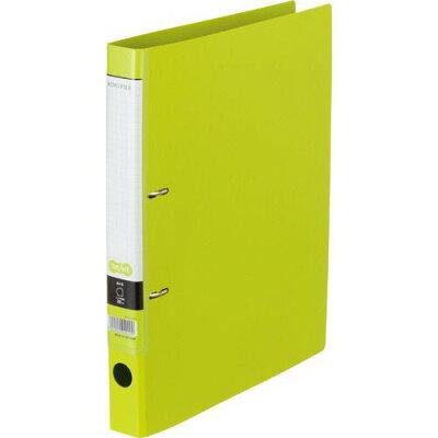 tanosee dリングファイル a4タテ 背幅  ライトグリーン