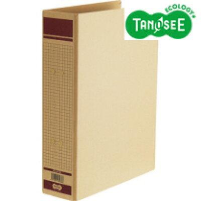 tanosee 保存用ファイル 片開きa4タテ  収容  とじ 赤