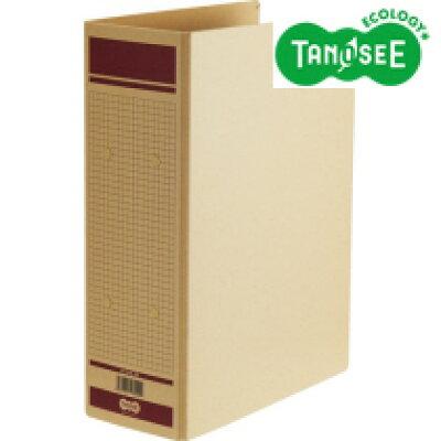 オリジナル TANOSEE 保存用ファイル 片開き A4-S 80mmとじ 赤 HFA4S-8R