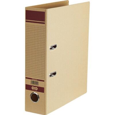 オリジナル TANOSEE 保存用レバー式アーチファイル A4-S 背幅77mm 赤 HRA4S-R