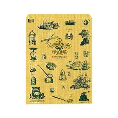 ササガワ タカ印 ギフトバッグ 平袋 パーソナル用 大 20枚入 シルバースミス 35-4841