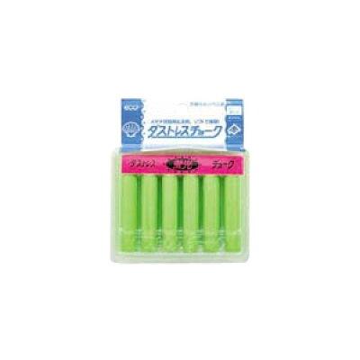 日本理化学工業 ダストレス蛍光チョーク 6本入 インク色:緑 DCK-6-G 10セット