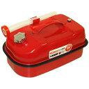 ガレージ ゼロ ガソリン携行缶 横型 10L 赤 UN規格