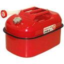 ガレージ ゼロ ガソリン携行缶 横型 20L 赤 UN規格 消防法適合品 ガソリンタンク/亜鉛メッキ鋼板