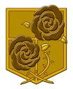 進撃の巨人 蒔絵シール 駐屯兵団 グッドスマイルカンパニー