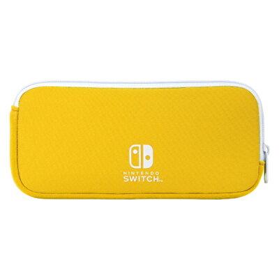 ソフトポーチ for Nintendo Switch Lite YELLOW アイレックス ILXSL300