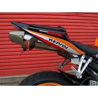 R&G アールアンドジー フェンダーレスキット ライセンスプレートホルダー RG-LP0008BK ブラック