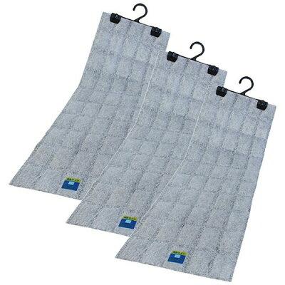 吊り下げ型 強力消臭&除湿シート クローゼット用 3枚セット(1セット)