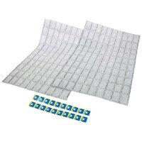 日本製 切って使える臭い・湿気取りシート 100マス×2枚 1085902