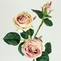 FIAN/ローズスプレーX3/FR0008-MAV 造花 バラ ローズ