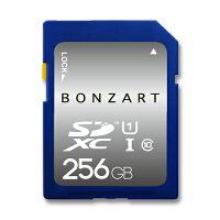 BONZART BONZ256GDXC SDカード 256gb
