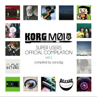KORG M01D Super Users Official Compilation vol.1/CD/DTSN-0008