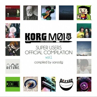 KORG M01D Super Users Official Compilation vol.1/CD/DTSN-0008
