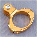GOBROS.31.8mmハンドルバー・クランプマウント -Standard ゴールド GB0106 GB0106