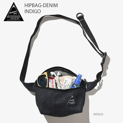 BELLWOODMADE/ベルウッドメイド ボディバッグ HIPBAG-DENIM